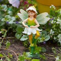 Department 56 Enchanted Guardians Fairy Garden Aria Figurine 4051170